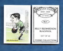 Blackpool Billy Richardson 4 (FC)